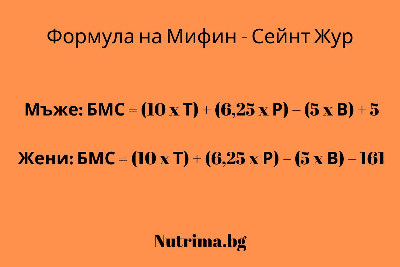 Базална метаболитна скорост - що е то - Нутрима-бг-1