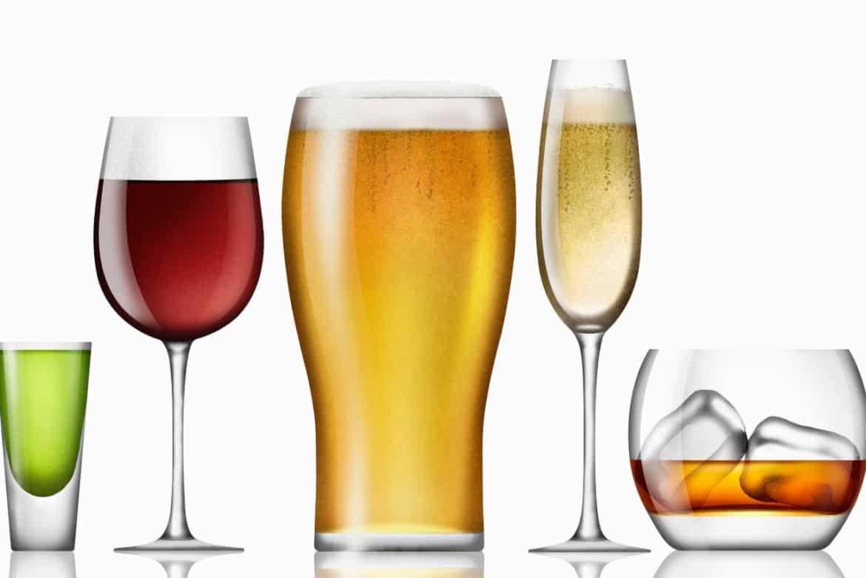 Колко калории има в алкохолните напитки-Нутрима-бг